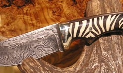 Kudu horn and mammoth ivory handle