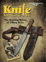 knife magazine May 2018