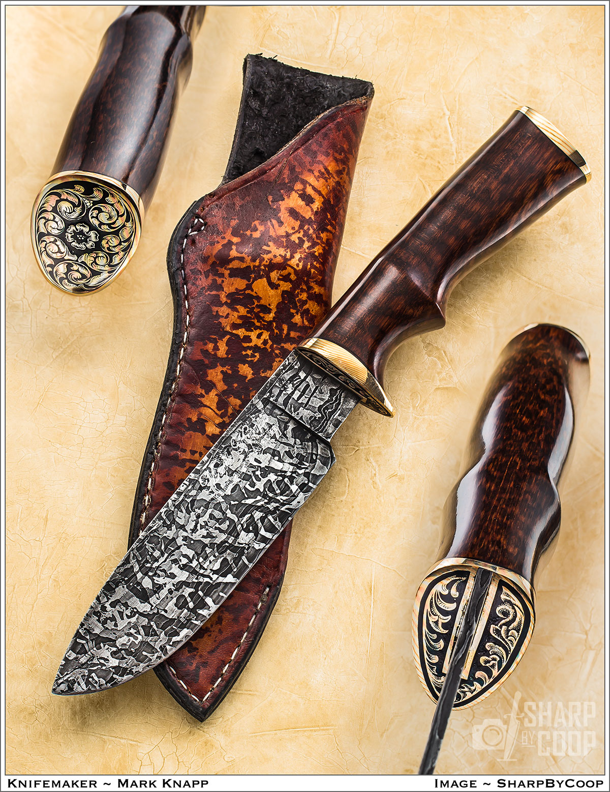 Custom Fixed Blades and Folders – Mark Knapp Custom Knives