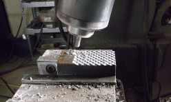 Making pattern dies from damascus