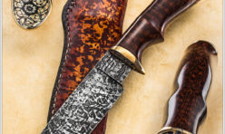 Snakewood Custom Drop Point Hunter